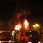Το διατηρητέο της οδού Αθηνάς 13 στις φλόγες