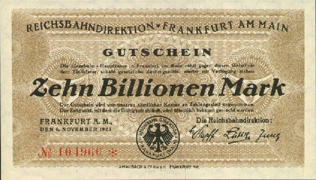 essay on hyperinflation in germany The german hyperinflation, 1923 essay before world war i germany was a prosperous country, with a gold-backed currency, expanding industry.